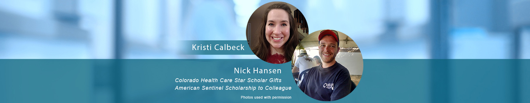 Colorado Health Care Star Scholar Gifts American Sentinel Scholarship to Colleague