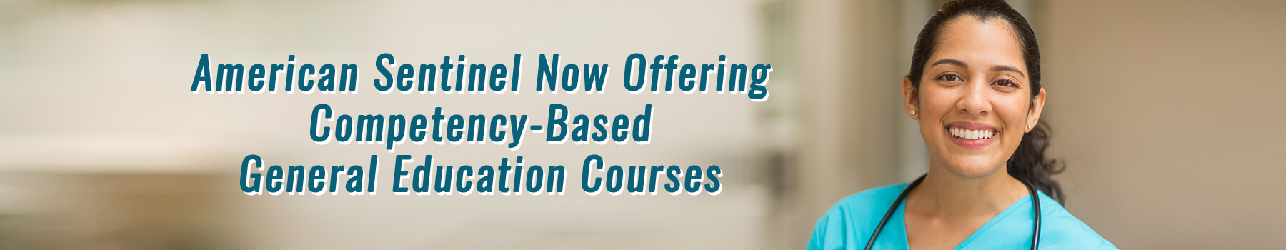 American Sentinel Now Offering Competency Based General Education Courses